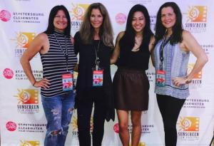Female filmmakers at Sunscreen Film Festival